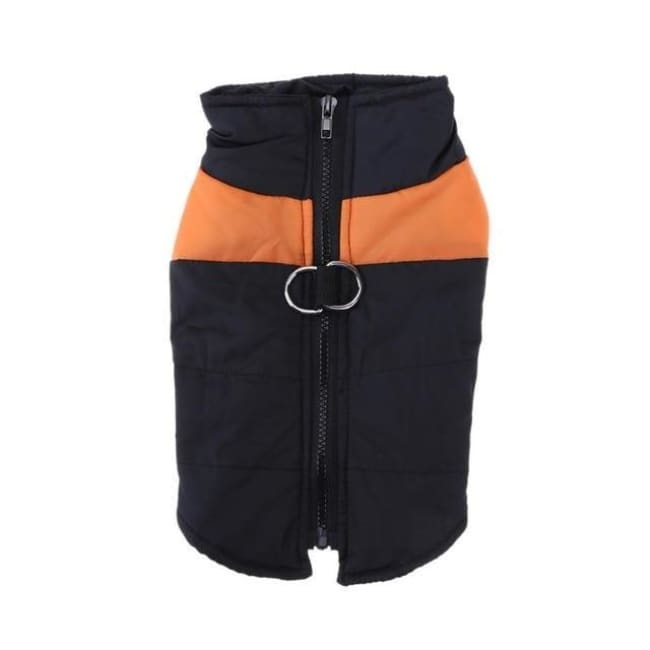 Waterproof Down Vest - Orange / S - Dog Clothes