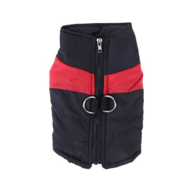 Waterproof Down Vest - Red / S - Dog Clothes