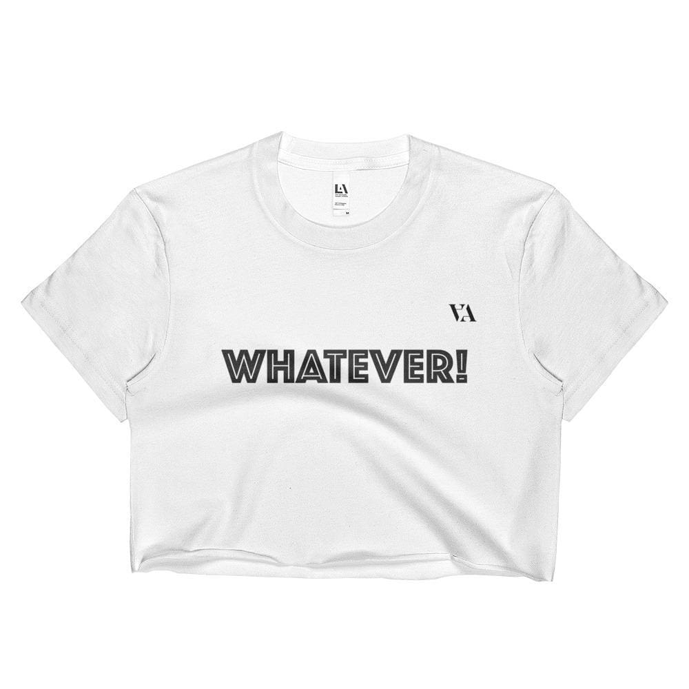 Whatever! Crop Top - S - Crop Top