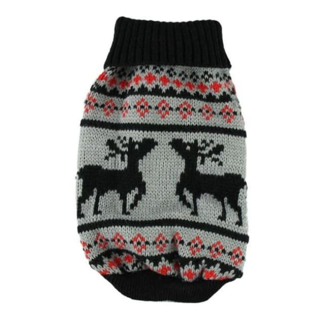 Winter Jumper For Small Dogs - Black / L - Dog Clothes