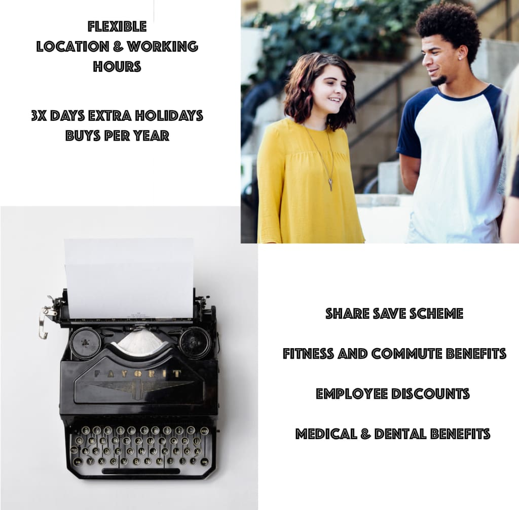 AubeNord Career Benefits Flexible Working, Extra Holiday Buys, Fitness and Commute Discounts, Medical and Dental Aid, Employee Discounts