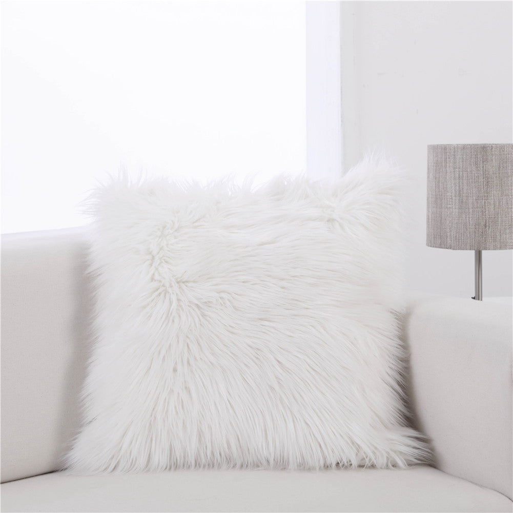Fuzzy Cushion Cover