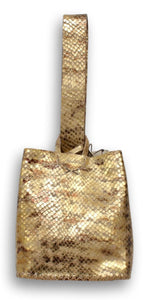 soho bag | rusted gold  leather
