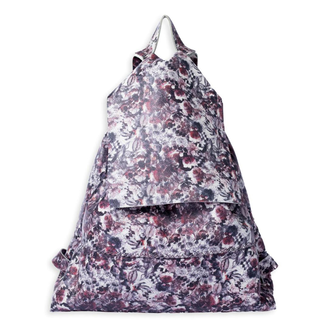 bay ridge large backpack | floral leather