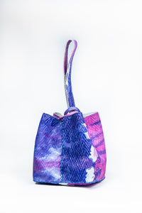 soho bag | natural tie-dye leather