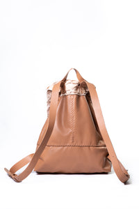 bay ridge small backpack | light caramel leather - Volta Atelier