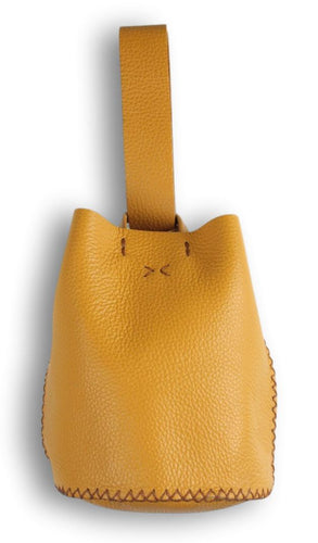 navigli bag | yellow leather - Volta Atelier