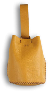 navigli bag | yellow leather