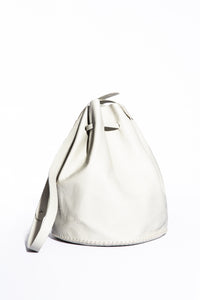 chelsea bag | white leather