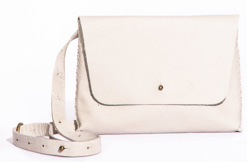 lapa bag | white leather