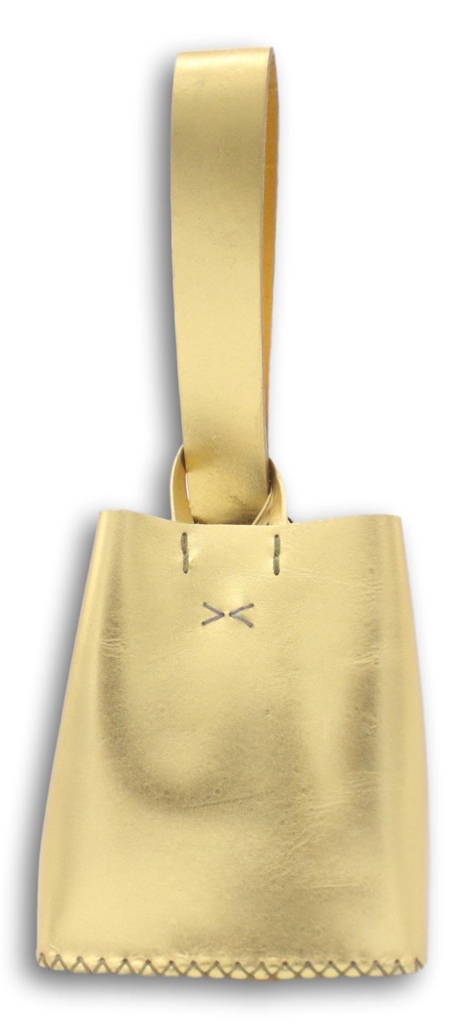 soho bag | golden leather - Volta Atelier