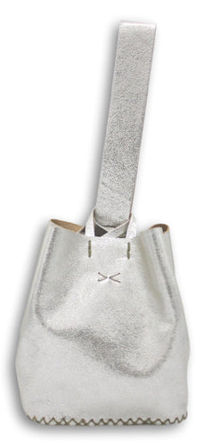 soho bag | silver leather - Volta Atelier