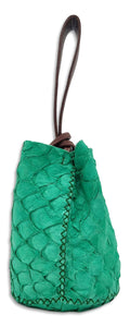navigli bag | light green pirarucu skin