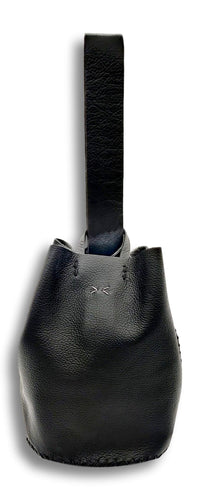 navigli bag | black floater leather