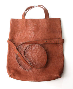 vila medium | brown floater leather