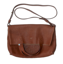 vila medium | brown floater leather - Volta Atelier