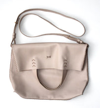 vila medium | beige leather