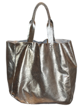 ipanema bag | pewter leather