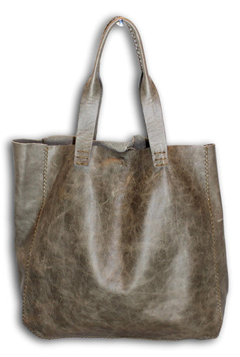 ipanema bag | distressed grey leather