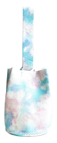 navigli bag | sunset sky-print leather