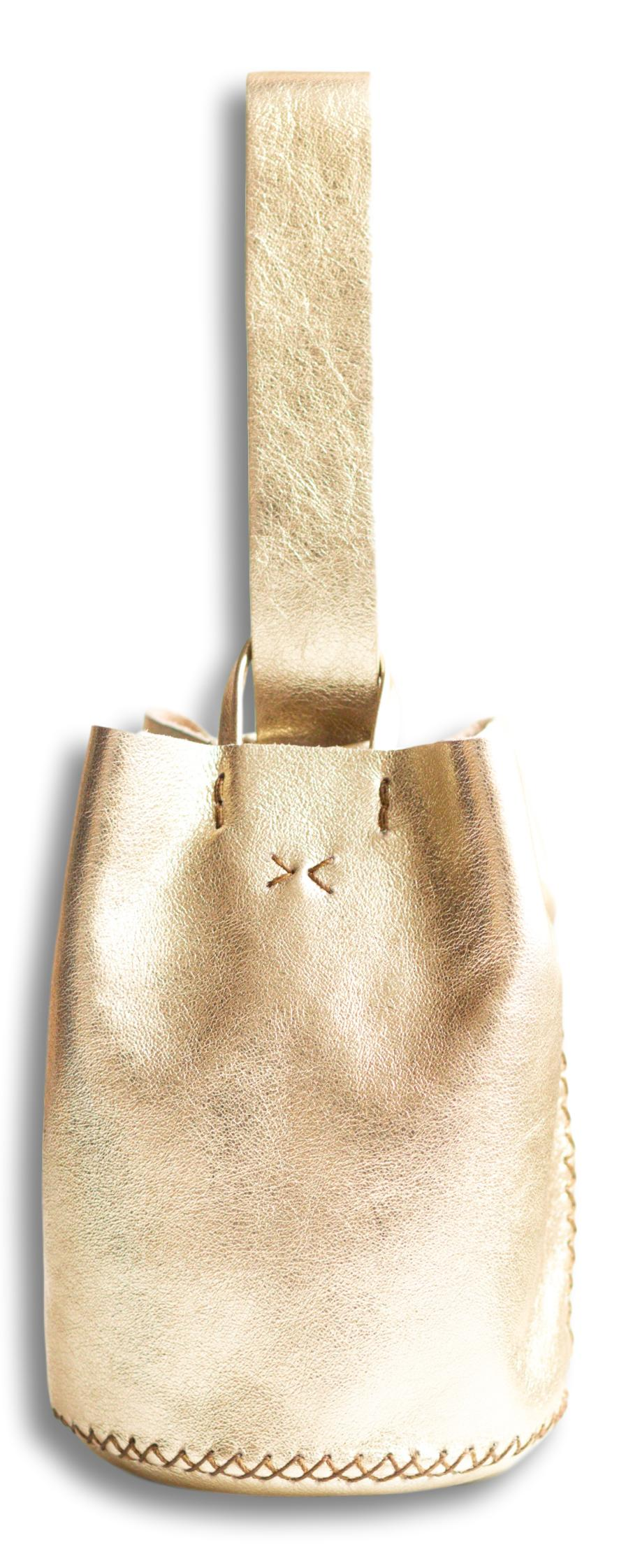 navigli bag | light gold leather - Volta Atelier