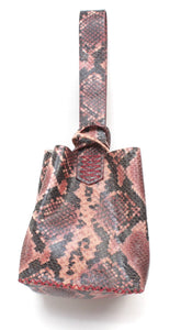 soho small  bag | colorful snake printed leather - Volta Atelier