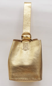 soho bag | golden leather