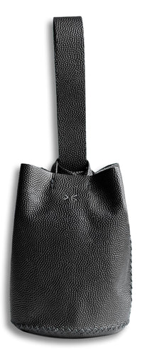navigli bag | black floater leather - Volta Atelier