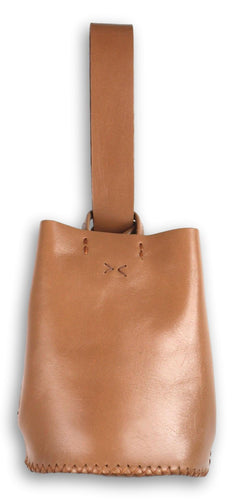 navigli bag | brown leather - Volta Atelier
