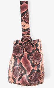 navigli bag | colorful snake-printed leather - Volta Atelier