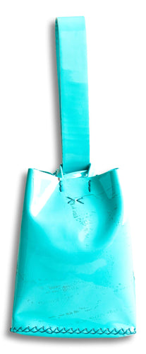 soho bag | blue patent leather - Volta Atelier