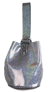 navigli bag | holographic leather