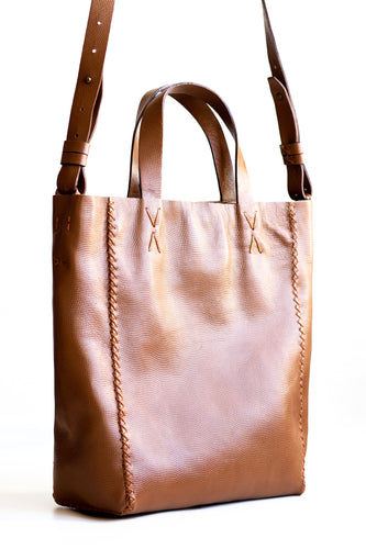 copacabana bag | brown leather - Volta Atelier