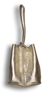 soho bag | golden mini floater leather