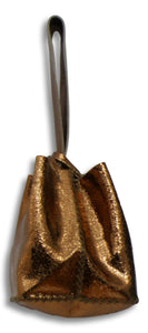 soho small bag | shiny copper crackle leather - Volta Atelier