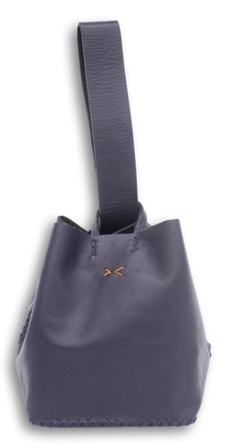 soho small bag | navy blue leather