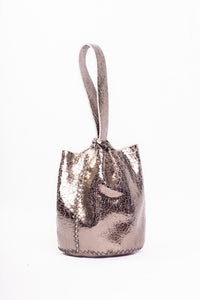navigli bag | silver leather