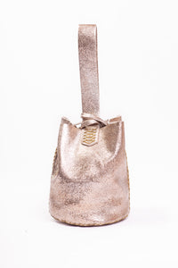 navigli bag | stingray-print golden leather