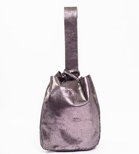 navigli bag | texture-print leather