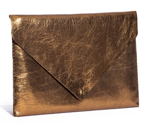 downtown case | golden leather