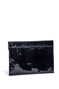 downtown case | black patent leather