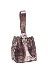 soho bag | metallic leather