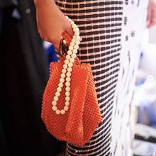 soho | red beaded bag - Volta Atelier