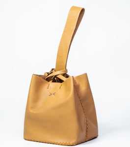 soho small bag | light caramel leather - Volta Atelier
