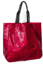 ipanema bag | red distressed leather - Volta Atelier