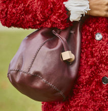 chelsea bag | ruby leather - Volta Atelier