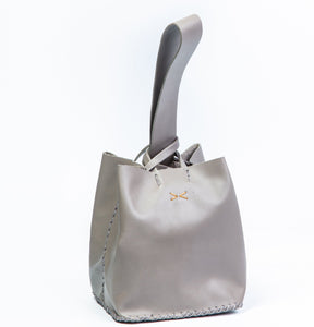 soho bag | light gray leather