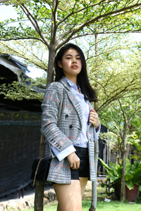 Casual + Smart with Jude Check Wool Jacket & 2-Layers Cuff Shirt