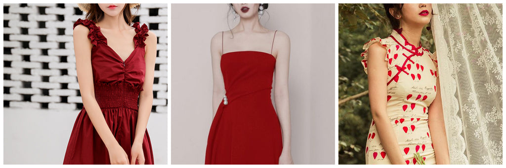 TOP 3 PERFECT RED DRESS FOR YOUR 2019 CNY!