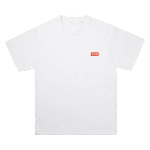 The North Raval - 08001 White Tshirt